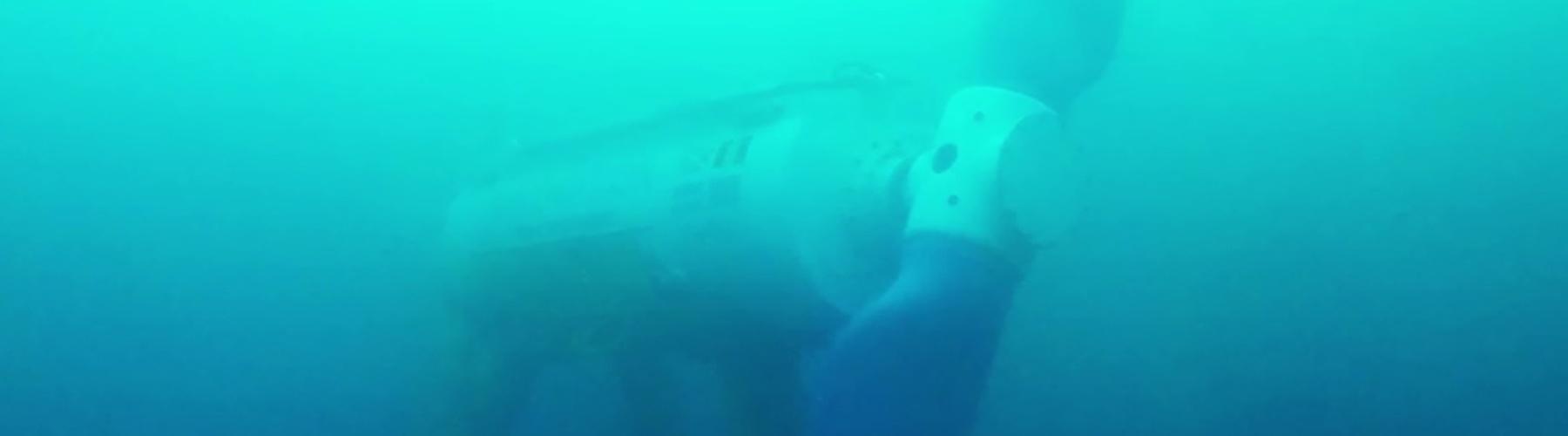 ELEMENT visuel sous la mer