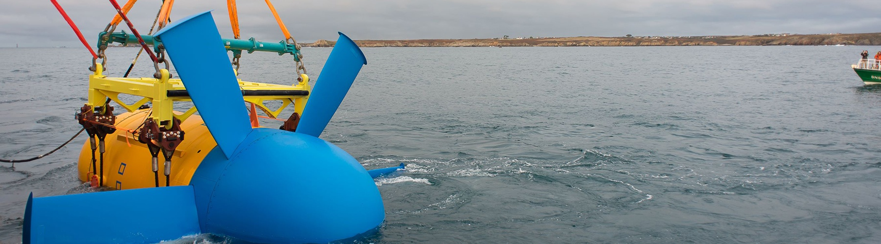 Launching of a tidal turbine with gravity base