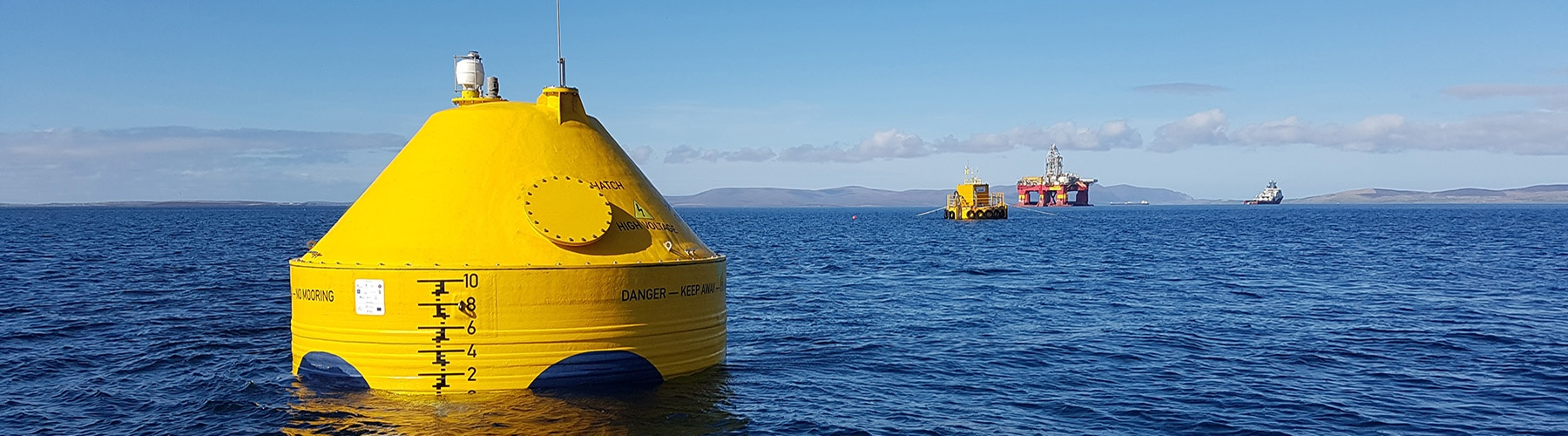 Wave energy converter prototype deployed at sea