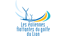 Eoliennes Flottantes Golfe Du Lion Logo