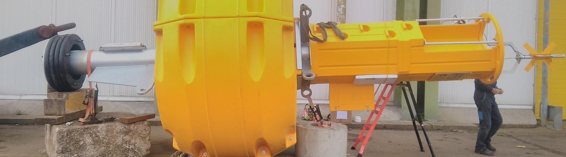 Groix & Belle-Île buoy assembly