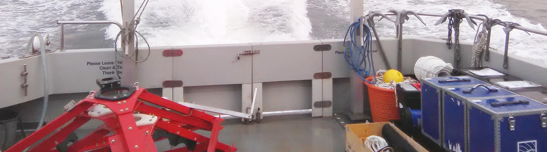 Intrumentation deployment off Dunkerque
